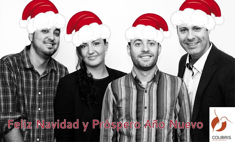 COLIBRIS Openpartners os desea Felices Fiestas