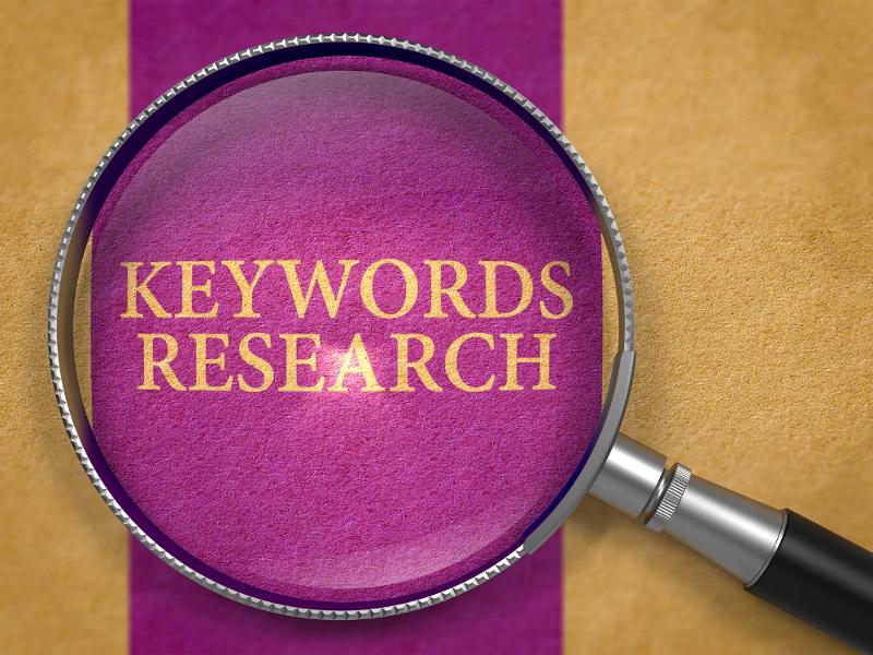 ¿Cómo buscar palabras clave?