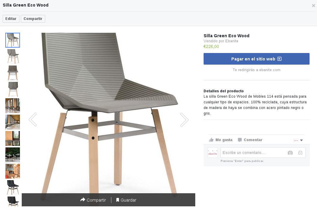 Tienda online producto Ebanite