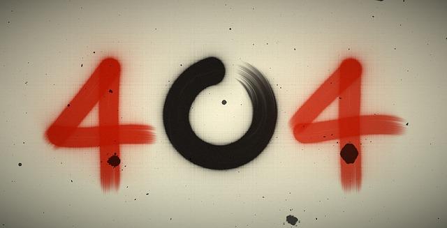 Error 404 en WordPress