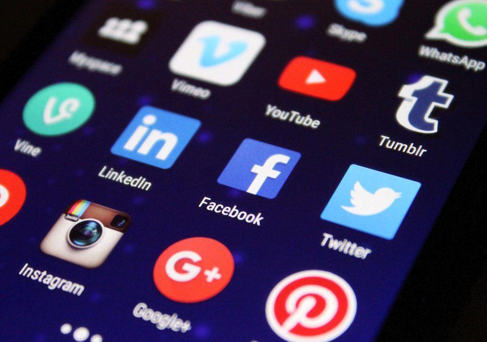 Comparación de las Redes Sociales habituales